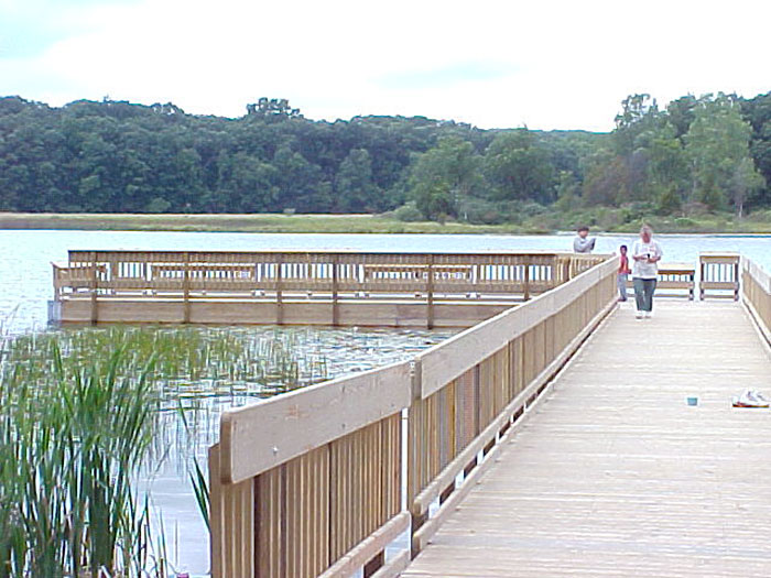 Yankee Springs Park Fishing Pier