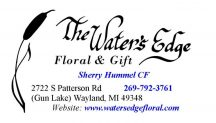 Waters Edge Floral